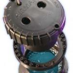 Raymarine inhull transducer gevuld met gel