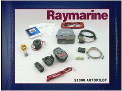 Raymarine installatie voor ST1000 stuurautomaat instructie inhoud