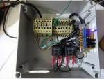 Acculader schakelkast relais en printplaat weidmuller ONJ