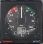 helm Raymarine ST50 windinstrument voorkant