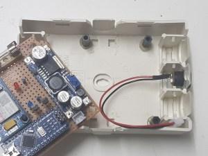 PCB Arduino en SIM800L module voeding