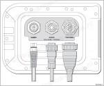 Raymarine A-serie kaartplotter met sonar achterkant aansluitingen_wm