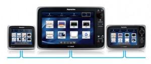 Raymarine e-serie en a-serie netwerk aansluiten zelf
