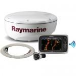 Raymarine e7 nieuw plaatsen in netwerk met radar