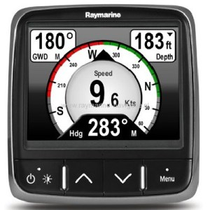 Raymarine i70 naar i70s uiterlijk aanpassen naar S-line instrument