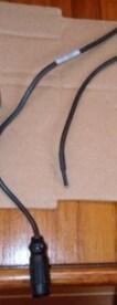 Bestaande wartel stekker afknippen van de dieptegever