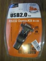 USB2.0 naar RS232 met USB-A verlengkabel PowerSync pakket