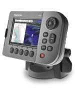 Raymarine A50D fishfinder transducer aansluiten