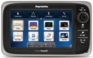 Raymarine e7 multifunction display zonder kaart E62354
