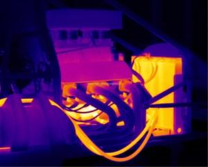 Raymarien ocean scout tk Flir thermische kamera spruitstuk