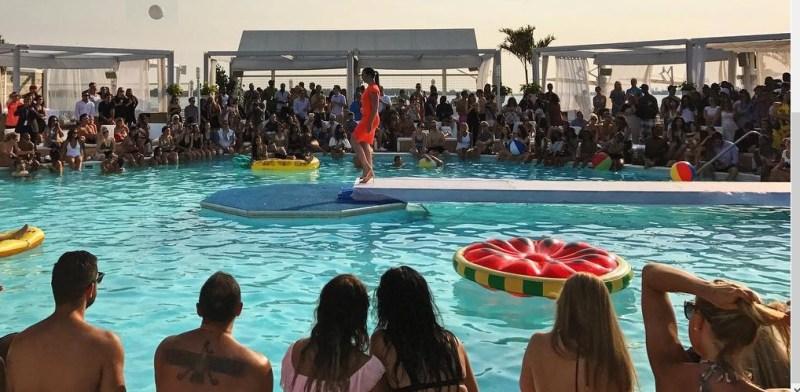 Miss World Canada Fashion Show at Cabana Pool Bar
