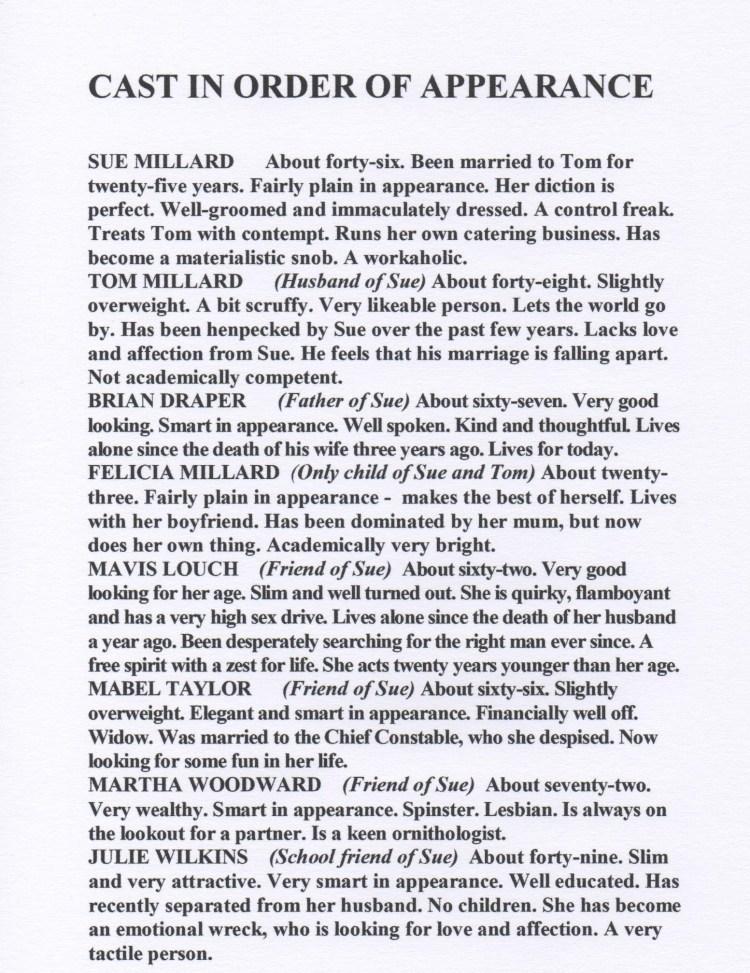 Cast - Love and Mistletoe 001