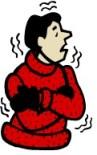 Cold Person Shivering