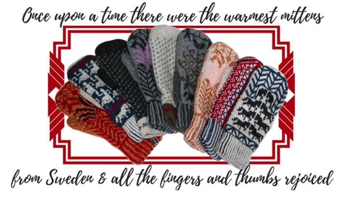 Öjbro Wool Gloves and Mittens