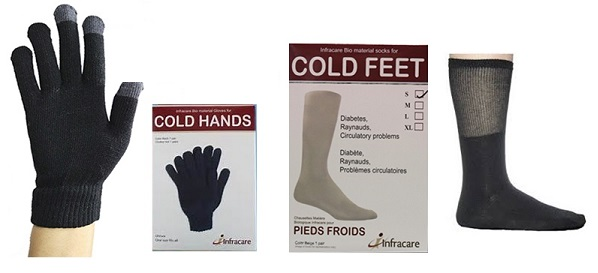 Infracare Glove Liners & Socks - New!