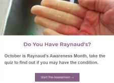 2020 Raynaud's Awareness Month