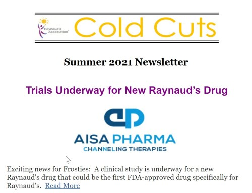 Cold Cuts Summer 2021 Newsletter – Just Published!
