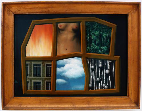 Magritte puzzle matières