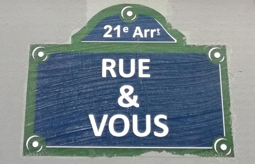 Rue et vous