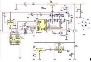 A wireless antitheft alarm circuit diagram