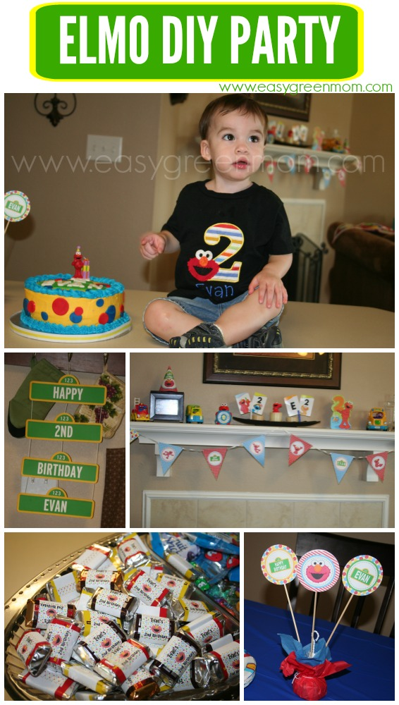 Diy elmo party ideas with free printables from rays of bliss diy elmo party with free printables solutioingenieria Image collections