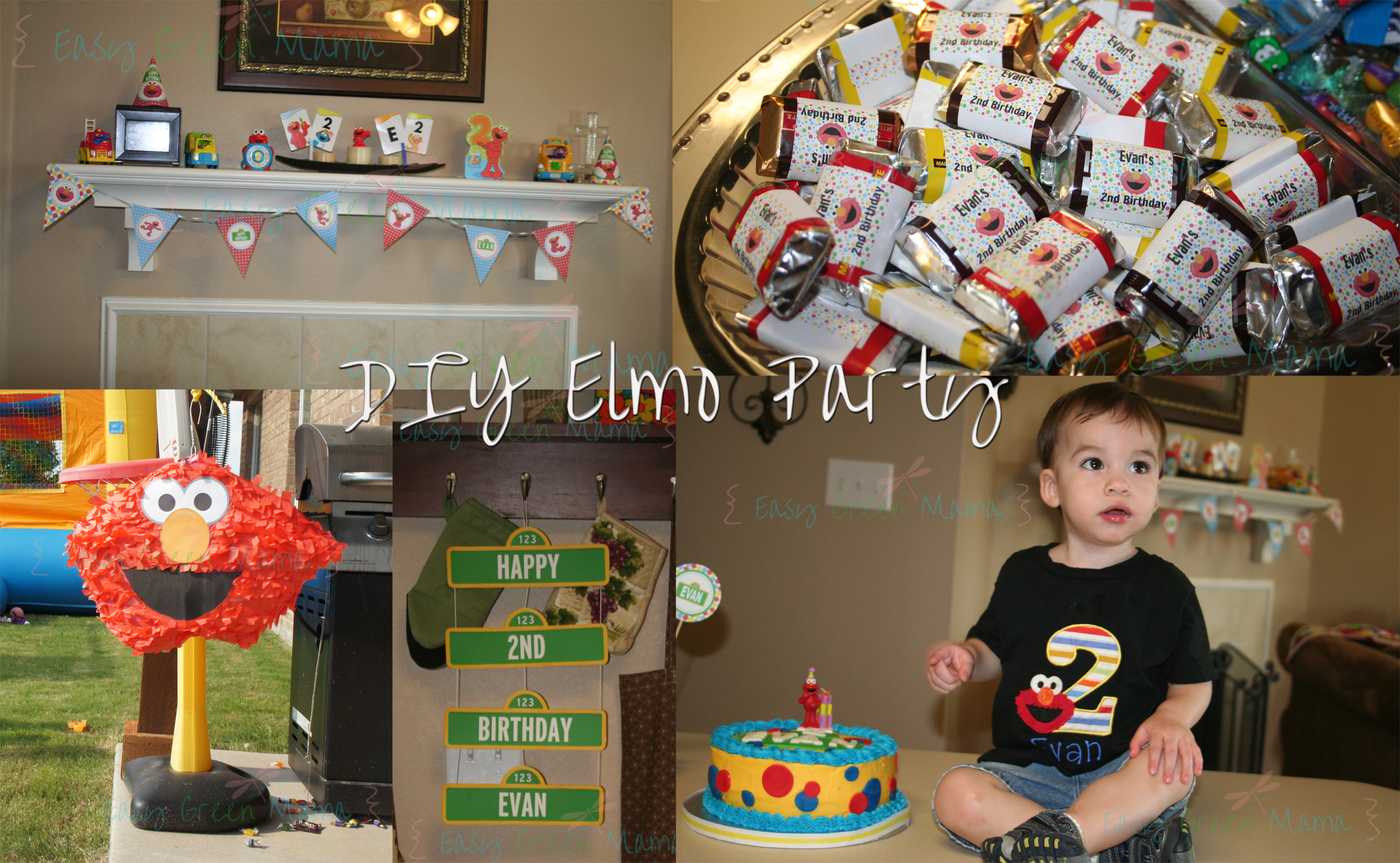 Amazing Diy Elmo Party Ideas With Free Printables From Rays Of Bliss Funny Birthday Cards Online Bapapcheapnameinfo