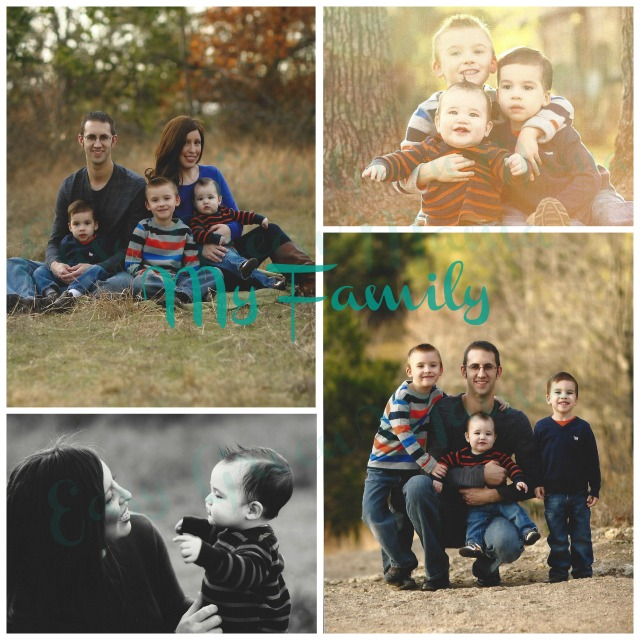 rays of bliss Family Collage
