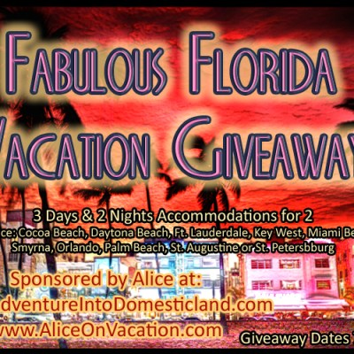 Fabulous Florida Vacation Giveaway