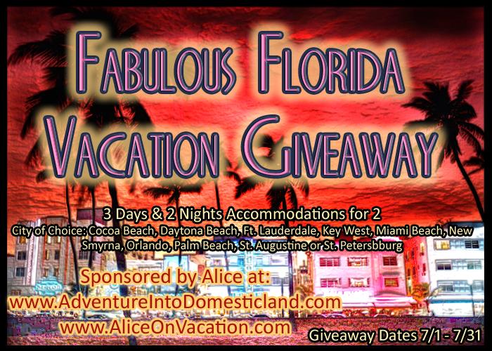 florida vacation giveaway