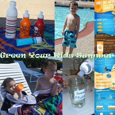 GREEN Your Kids Summer! 5 Easy Tips!