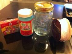 diy colored mason jars