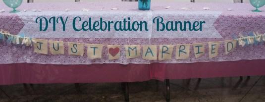 diy celebration banner