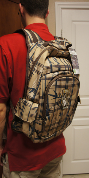 Instinctive Approaching Backpacks