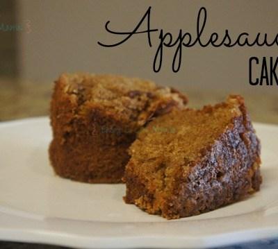 Applesauce Cake Recipe ~ Gluten Free