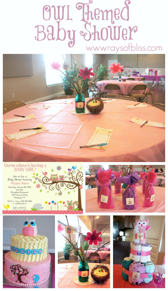 We Just Gave My Younger Sister An Owl Themed Baby Shower. She Is Decorating  Her Nursery With The Happi Tree Theme, And Thatu0027s What We Used For Her  Shower.