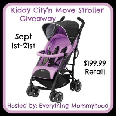Kiddy City'N Move Stroller Giveaway