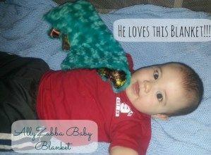 AllyZabba Baby Blanket