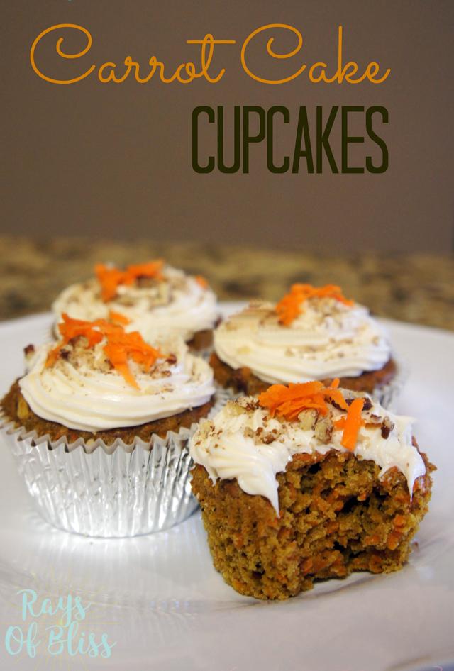 Gluten-free Carrot Cake Cupcakes Recipe