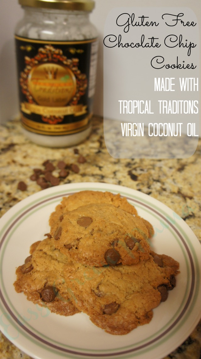 Gluten Free Cookies w/ Virgin Coconut Oil