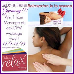 Massage Envy DFW Giveaway