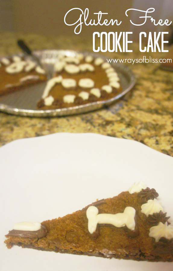 Gluten-free Cookie Cake Recipe