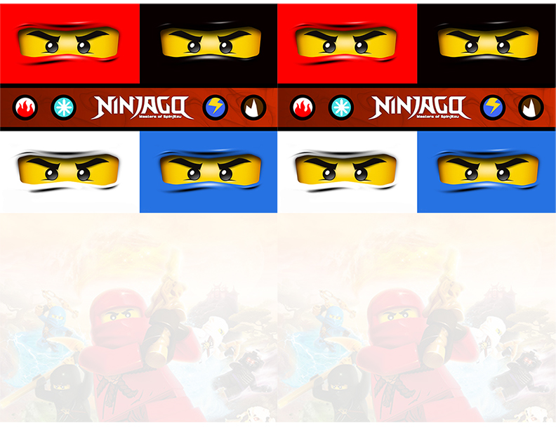 graphic about Ninjago Eyes Printable titled Do-it-yourself LEGO NINJAGO Occasion with Free of charge Printables - Rays of Bliss