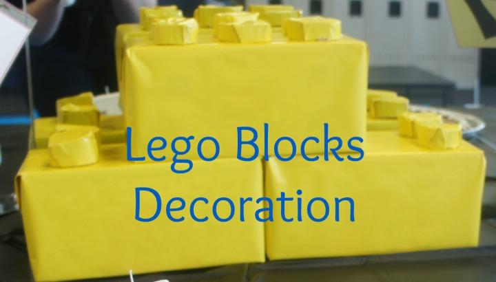 Lego Blocks Party Decoration