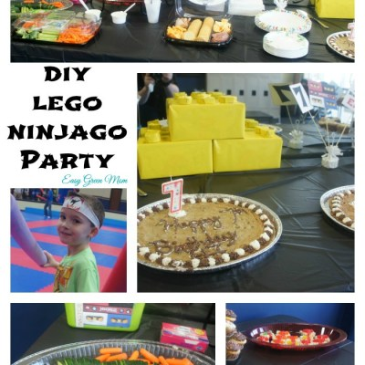 DIY LEGO NINJAGO PARTY with Free Printables
