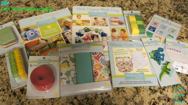 DIY Cloth Diaper Making Supplies from Babyville Boutique