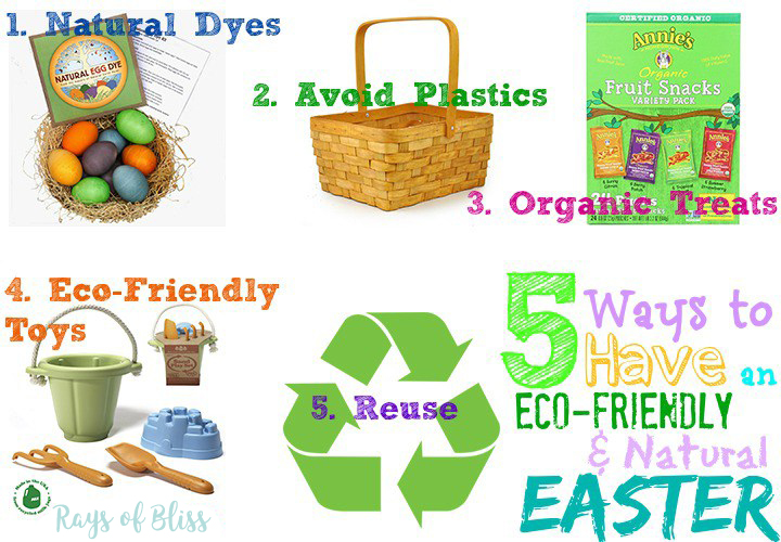 5 Ways to have an Eco-Friendly & Natural Easter