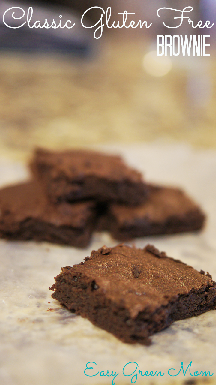 Classic Brownies ~ Gluten Free ~ Simple from Scratch