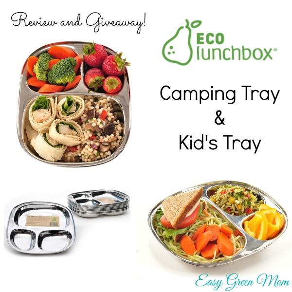ECOlunchbox Camping and Kid's Tray Review and Giveaway