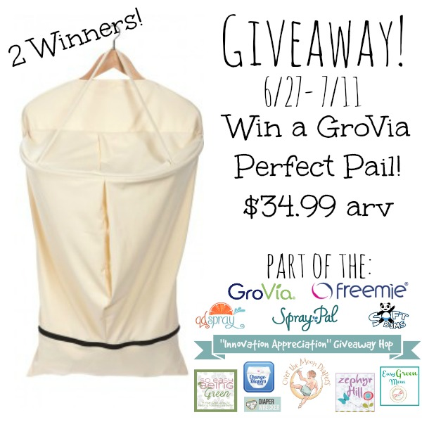 GroVia Perfect Pail Giveaway