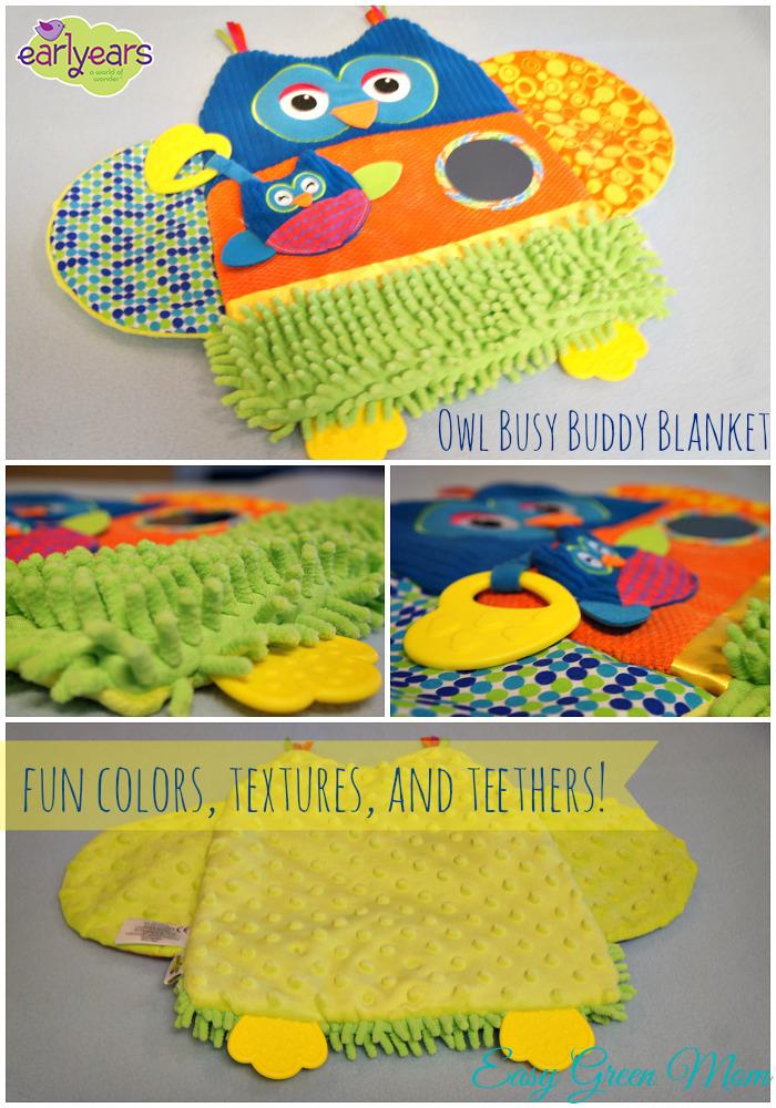Owl Busy Buddy Blanket